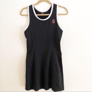 Nike black and white tennis dress. Medium